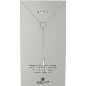New Dogeared Karma Y Necklace